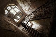The Nobodies.. (u c c r o w) Tags: abandoned beelitz germany berlin deutschland stairs stairway dirty dirt urban urbanlife citylife clinic indoor window windows