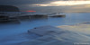 Blue and a little bit of red (renatonovi1) Tags: turimetta blue bluehour red sunrise beach sea ocean water flow rocks clouds seascape landscape sydney nsw australia