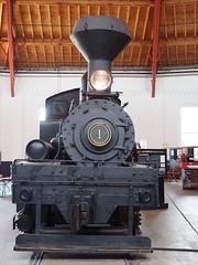 Cass Shay 1, Baltimore (nigelmenzies) Tags: borailroadmuseum baltimore shay 1