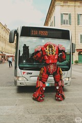 Iron Man Hulkbuster (enricojericho) Tags: photograph photo photooftheday photography photographer ironman cosplay fecomics comics ferrara goodtimes amazing italy superheroes hero emiliaromagna rihanna riri love navy hulkbuster crazy beautiful