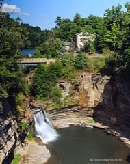 Water Falls - Treman_0071 (sugarzebra) Tags: triphammer falls waterfalls ny newyork fingerlakes cornell university canon longexposure