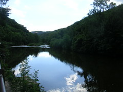 River Wye (southglosguytwo) Tags: 2016 augustbankholiday bankholidaymonday clouds latesummer riverwye sky symondsyat trees