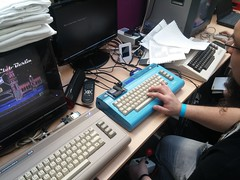 C64 Mods (stiefkind) Tags: vcfb vcfb15 vcfb2015 cc0 vintagecomputing c64 8bit microcomputer mikrocomputer vcfb16