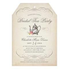 (Classy Vintage Bridal Tea Party   Bridal Shower Card) #Antique, #Bridal, #BridalShower, #BrideToBe, #Brunch, #Celebration, #Chic, #Classy, #Diecut, #Elegant, #Engaged, #Era, #Luncheon, #Modern, #Paris, #Pretty, #Scrolls, #Shape, #Sophisticated, #Swirly, (CustomWeddingInvitations) Tags: classy vintage bridal tea party   shower card antique bridalshower bridetobe brunch celebration chic diecut elegant engaged era luncheon modern paris pretty scrolls shape sophisticated swirly tag teaparty theme victorian wedding is available custom unique invitations store httpcustomweddinginvitationsringscakegownsanniversaryreceptionflowersgiftdressesshoesclothingaccessoriesinvitationsbinauralbeatsbrainwaveentrainmentcomclassyvintagebridalteapartybridalshowercard weddinginvitation weddinginvitations