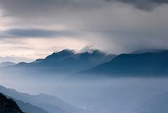 Alishan 09-2016-06 (bluetrayne) Tags: landscape sky cloudy clouds mist sunrise dawn longexposure filmphotography analogphotography taiwan asia alishan nature naturephotography  mountain mountains