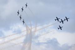 DSC_5542 (sauliusjulius) Tags: nato days ostrava 2016 czech air force september 17  18 leos janacek airport osr lkmt frecce tricolori 313 gruppo addestramento acrobatico aermacchi mb339