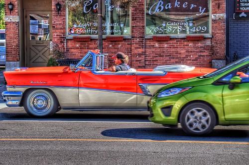 Lindsay Ontario ~ Canada ~ Mercury Montclair ~ Vintage Car 1955