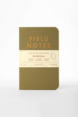 Ambition 3-Pack (2strokebuzz) Tags: stationery madeinusa notebooks fieldnotes datebook fieldnotesbrand memobooks