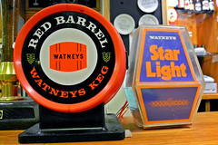 Watneys red and Star light. (Shaw-King.) Tags: light red beer was star remember very barrel have be said did tinge weak watneys i