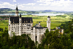 Neuswanstein (World Trek Photography) Tags: alps castle germany bayern bavaria marien burg fussen brucke schwangau