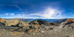Bses Weibele (peter_gratl) Tags: mountain berg austria peak 360 bluesky summit spherical osttirol gipfel kugelpanorama 360panorama bsesweibele