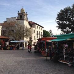 Two blocks from Chinatown is El Pueblo de Los Angeles, the birthplace of. LA