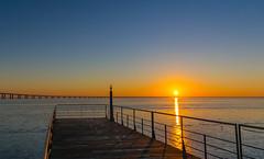 Sunny landscape (Nuno.Correia) Tags: sunset pordosol color art portugal beautiful sunrise photography photo nikon europe lisboa lisbon parquedasnaes expo98 pontevascodagama nascerdosol nationspark riotejo rivertagus vascodagamabridge nikond5300 nikon18140mm
