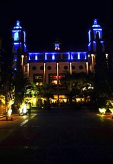 Hotel Lopesan Villa del Conde auf Gran Canaria (Credi) Tags: hotel kathedrale nachtaufnahme lopesanvilladelconde