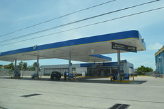 Gas station in Belize Central America (RYANISLAND) Tags: city america belize central tropical tropic belizecity tropics centralamerica warmweather centralamerican belizean belizeanpeople countyofbelize