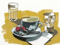 Costa Coffee 466 by Richard Carl Pearson (richardcarlpearson555) Tags: costa coffee hospital leicester angela