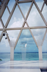 Trip to Guam-- Blue Aster Chapel (Steve only) Tags: film church canon shot snaps 400 vista plus epson sure agfa guam sureshot f60 f35 70mm 38mm telemax 13560 v750 primatwins 3870mm gtx970 blueasterchapel autoboyminit