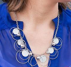 5th Avenue Silver Necklace K1 P2210A-1