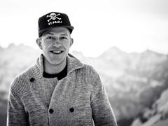(maxwidder) Tags: winter bw ski sterreich portait htte portrt sw ulmer stuben vorarlberg