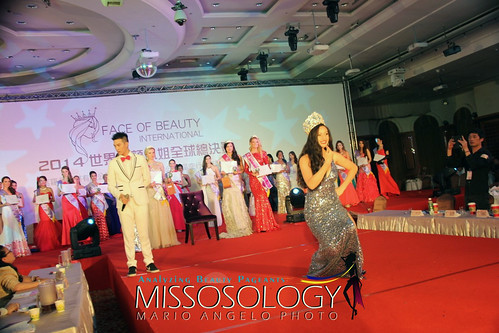 DAY 18 - FACE of BEAUTY INTERNATIONAL 2014 - CROWING