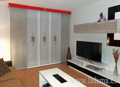 "Panel japonés Sofía en salón moderno • <a style=""font-size:0.8em;"" href=""http://www.flickr.com/photos/67662386@N08/15650329041/"" target=""_blank"">View on Flickr</a>"