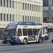 20140902 56 L A DOT bus Western Ave. @ Wilshire Blvd