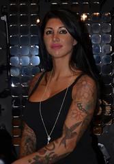 Eicma 2014 Model (467) (Pier Romano) Tags: woman sexy girl beautiful model milano babe salone moto motorcycle belle donne hostess bella brunette tatoo bruna bellezza tatuaggio fiera ciclo esposizione rho 2014 ragazze modelle eicma