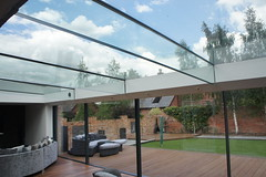 Hoveringham Barn (clearliving) Tags: sk glassroof glassbox frameless structuralglass skyframe
