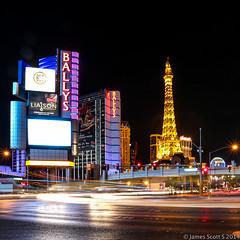 20141105 5DIII Las Vegas 22 (James Scott S) Tags: las vegas paris tower canon scott james boulevard unitedstates lasvegas nevada tripod s eiffel strip hollywood shutter planet ballys delayed ef 1740 blvd lr5 5diii