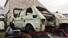 Fiat 126 1974 (XBXG) Tags: auto old italy holland classic netherlands car yard vintage 1974 italian rust automobile italia fiat nederland rusty voiture junkyard scrapyard scrap casse paysbas corrosion italie emmeloord 126 roest sloop ancienne rouille rouill roestig italienne gaos fiat126 sloperij autosloop autosloperij