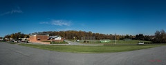 Thomas McKean Highschool - Fall colors Panorama #2 (Donald.Gallagher) Tags: fallfestival bbf backbuttonfocus basketball de delaware lenstagger newcastlecounty newcastle northamerica sode school skills specialolympicsdelaware thomasmckeanhighschool tournaments typebackbuttonfocus usa