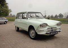 Citroën Ami 6 Break 7-2-1966 AR-82-34 (Fuego 81) Tags: 6 break citroën 1966 renault ami fuego import sidecode1 ar8234