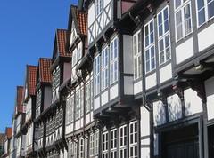 Wolfenbüttel: Reichsstraße (zug55) Tags: reichsstrase wolfenbüttel niedersachsen deutschland germany lowersaxony explore fachwerk fachwerkbau halftimbered