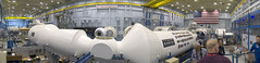 JSC Space Vehicle Mockup Facility Panorama