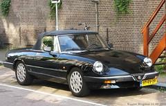 Alfa Romeo Spider 2.0 1984 (XBXG) Tags: auto old italy holland classic netherlands car amsterdam vintage spider italian automobile italia nederland convertible voiture 1984 alfa romeo 20 alfaromeo cabrio paysbas italie ancienne roadster cabriolet pininfarina italienne htfx39