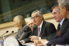 Marielle de Sarnez, Jean-Claude Juncker, Franois Bayrou (PDE-EDP) Tags: fb marielle juncker bayrou sarnez