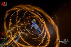 Wicked Halloween 2014 (AJ Hége Photography) Tags: street longexposure light people holiday hot halloween night canon fun outside flow fire orlando community artist florida trails fisheye spooky event flame staff human talent heat performer spinner skill 2014 opteka redlionpub 60d furtographer ajhegephotography ajhégephotography breanefillman