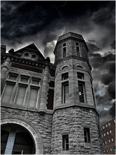 Auburn New York ~ Old Post Office and Courthouse ~ Historical Site
