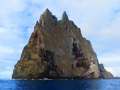 Balls Pyramid's Sheer West Face, Lord Howe Island, Australia (Red Nomad OZ) Tags: australia newsouthwales lordhoweisland ballspyramid