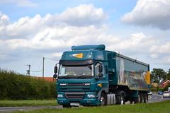 DAF CF 85 'Frontier' reg KY62 OTH (erfmike51) Tags: lorry artic frontier dafcf85 bulktipper