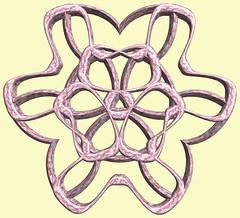 6 Tori / 6つの輪環 (TANAKA Juuyoh (田中十洋)) Tags: torus 輪環 りんかん ドーナツ どーなつ mathematica 3d cg parametricplot3d texture code program algorithm abstruct graphic design pattern structure mapping figure プログラム コード アルゴリズム テクスチャ マッピング 模様 もよう 抽象 ちゅうしょう アブストラクト グラフィック グラフィクス パターン デザイン 意匠 いしょう 構造 こうぞう 図形 ずけい symmetry 対称性 たいしょうせい シンメトリー 対称 たいしょう