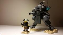 Weird war II (-TTROOPER-) Tags: lego wwii mech classicsmile weirdwarii pulsetank
