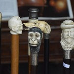 Monkey head walking staff thumbnail