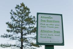 Attention Dogs! (Vladimir Yaitskiy) Tags: usa dogs woof warning fun us funny announcement bark gooddog woofwoof