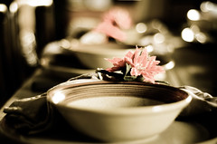 Day 2 (csztova) Tags: christmas dinner table 50mm nikon bowl setting d7000