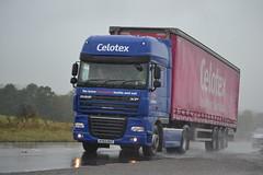 DAF XF 105 'Celotex' reg AY62 DGZ (erfmike51) Tags: lorry artic celotex curtainside dafxf105