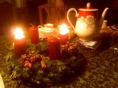 Countdown zum 3. Advent (mknt367 (Panda)) Tags: advent adventskranz
