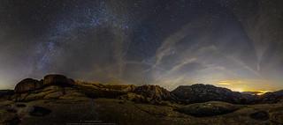 En Madrid si hay estrellas! (5) - Via lactea de Invierno sobre el Parque Nacional de Guadarrama. La Pedriza.[Explore]