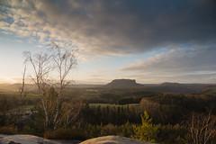Golden Hour - Explored (derliebewolf) Tags: nature sunrise landscape nikon natur landschaft sächsischeschweiz d600 saxonswitzerland