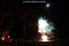 fireworks long exposure (Aaron Lynton) Tags: new longexposure hawaii fireworks nye maui newyearseve newyears years 2014 2015 newyearseve2014 lyntonproductions